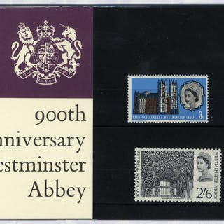 1968 Westminster Abbey Presentation Pack