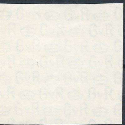 1924 Block Cypher watermarked paper (75mm x 55mm)