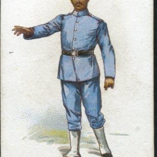 Robert Sinclair 1899 Policemen of the World No.12 Malay Policeman