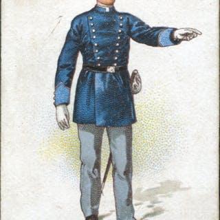 Robert Sinclair 1899 Policemen of the World No.7 Italian Policeman