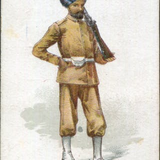 Robert Sinclair 1899 Policemen of the World No.10 Sikh Policeman