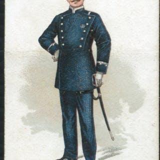 Robert Sinclair 1899 Policemen of the World No.6 German Policeman