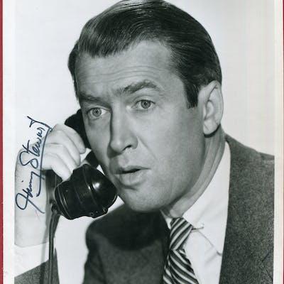 STEWART, JAMES 1908-97 (American actor) black & white photograph taken