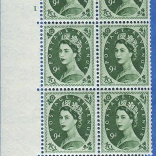 1955 Edward Crown 9d - Cylinder block