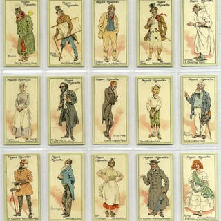 John Player 1912 Characters from Dickens 2nd series, complete set