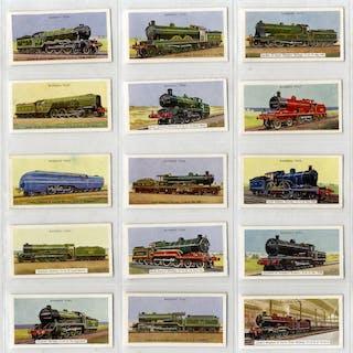 Barbers Tea 1956 Locomotives, complete set of 25, Cat. £45
