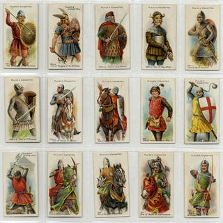 John Player 1909 Arms & Armour, complete set of 50, Cat. £120