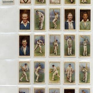 Wills 1928 Cricketers, complete set of 50, Cat. £90
