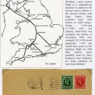 1936 May 19th RAS flight London - Glasgow