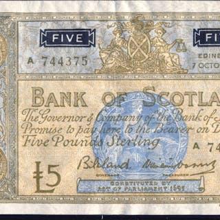1963 Bilsland & Sir Wm Watson £5