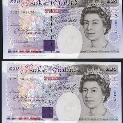 Kentfield £20 (2) issued 1994