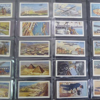 1936 Lambert & Butler Empire Air Routes, (50) Cat. £125