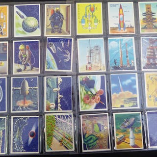 1959 Weetabix Conquest of Space A & B Series, (50) Cat. £130
