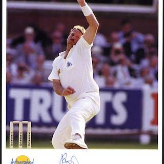 BOTHAM, IAN (Cricketer) signed photograph