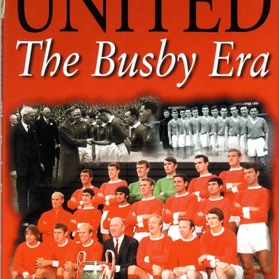MANCHESTER UNITED 'UNITED The Busby Era' Book signed by George Best