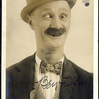 712b31ee03e5f TURPIN BEN 1869-1940 (American Silent Film Comedian) signed vintage  photograph