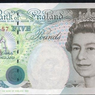 1993 Kentfield £5 Stephenson (BD11 144157), A/UNC