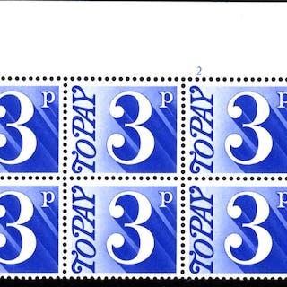1970-76 3p Cylinder 2 block of six