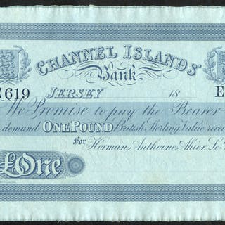 Jersey Channel Islands Bank £1
