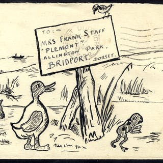 1946 envelope franked 2½d defin, addressed to Bridport from East Dulwich