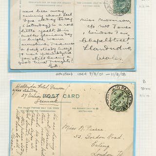 1904 & 1908 G K & ARDRISHAIG PACKET/A/COLUMBIA