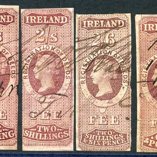 IRELAND REGISTRATION OF DEEDS 1861, Cat. £100