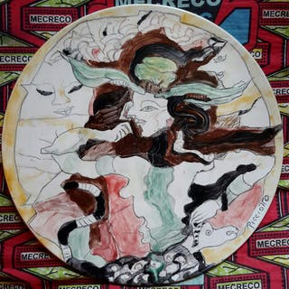 Assiette céramique - Simone Picciotto
