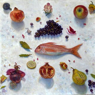 Poisson et fruits - Ljubica Mrkalj