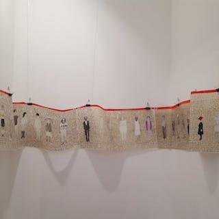 Humains – vue d'ensemble de l'oeuvre - Brigitte Lurton