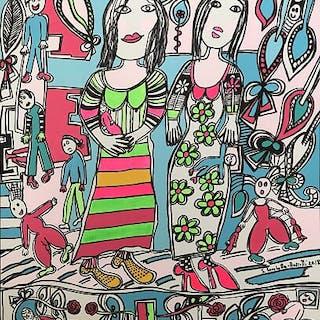 La promenade des poupées - Silvana Lucchetta-Rossetti