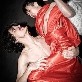 Combat de l'Ange Leloir avec Jacob - François Harray