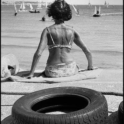 Le pneu, Les Sables d'Olonne - Bernard Drouillet