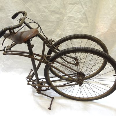 1943 BSA Airborne Folding Paratrooper Bicycle, All, >, Fine Art and