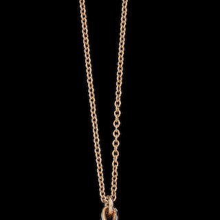 7f46274f2 An 'olive leaf' pendant by Paloma Picasso, Tiffany & Co. gold 750, necklace  ...
