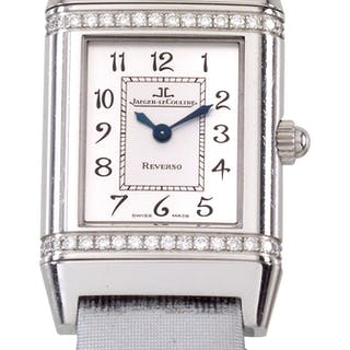 3554a953a301a Jaeger LeCoultre Reverso · lady's wristwatch set with brilliants ...