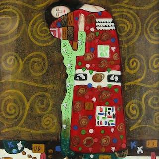 In the manner of Gustav Klimt