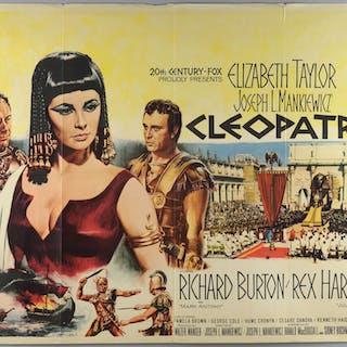 Cleopatra (1963) British Quad film poster