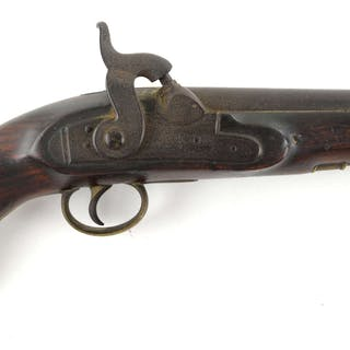 Victorian percussion Coast Guard or sea service belt pistol