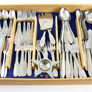 Georg Jensen canteen of cutlery