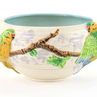 Clarice Cliff for Newport pottery bowl decorated with...