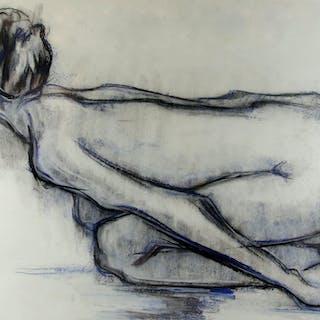 Mircea Marosin (Romanian ) Kneeling nude