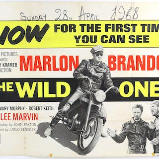 The Wild One (1968) British Quad film poster starring...