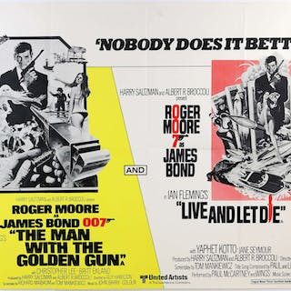 James Bond The Man With The Golden Gun / Live And Let Die...