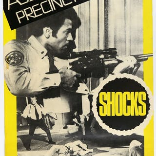 Assault On Precinct 13 (1967) Two UK Double Crown film posters