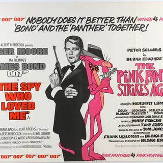 James Bond The Spy Who Loved Me / The Pink Panther...