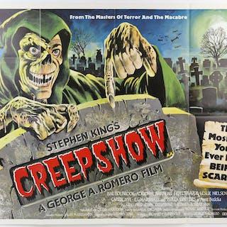 Creepshow (1982) British Quad film poster