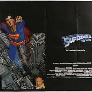 Superman (1978) Two British Quad film posters