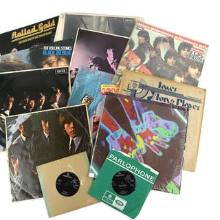 11 Vinyl LPs including The Rolling Stones