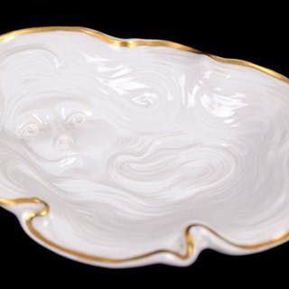 German porcelain dish