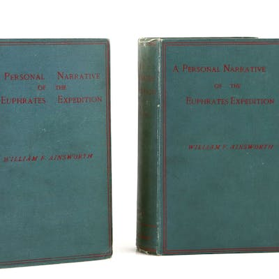 William F Ainsworth: A Personal Narrative of the Euphrates Expedition